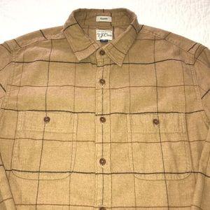 J. Crew Men's Cotton Twill Button Up